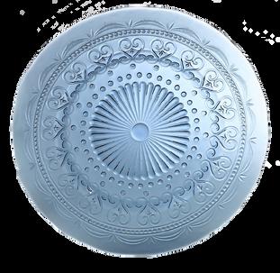 Provenzale - coordinate Plate (Aquamarine)