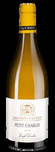 Вино Petit Chablis, Joseph Drouhin, 2018 г.