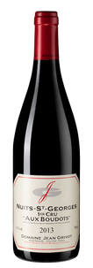 Вино Nuits-Saint-Georges Premier Cru Aux Boudots, Domaine Jean Grivot, 2013 г.