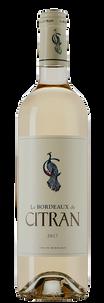 Вино Le Bordeaux de Citran Blanc, Chateau Citran, 2017 г.