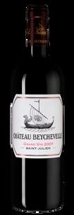 Вино Chateau Beychevelle Grand Cru Classe (Saint-Julien), 2007 г.