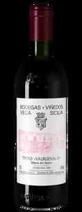 "Вино ""Valbuena"" 5 (Ribera del Duero), Bodegas Vega Sicilia, 1988 г."