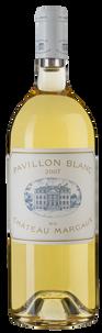 Вино Pavillon Blanc du Chateau Margaux, 2007 г.