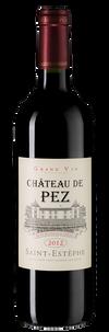 Вино Chateau de Pez, 2012 г.