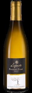 Вино Pouilly-Fume La Vigne de Beaussoppet, Domaine Laporte, 2017 г.