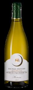 Вино Chablis Premier Cru Montmains, Jean-Marc Brocard (Domaine Sainte-Claire), 2017 г.
