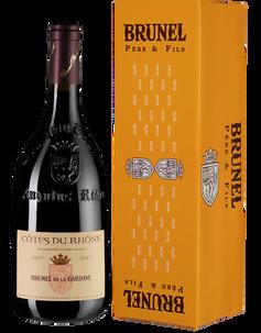 Вино Cotes du Rhone Brunel de la Gardine, Chateau de la Gardine, 2016 г.
