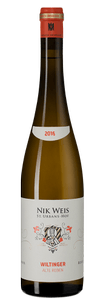 Вино Wiltinger Alte Reben, Nik Weis, 2016 г.
