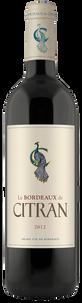 Вино Le Bordeaux de Citran Rouge, 2012 г.