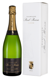 Шампанское Grand Millesime Brut Grand Cru Bouzy, Paul Bara, 2012 г.