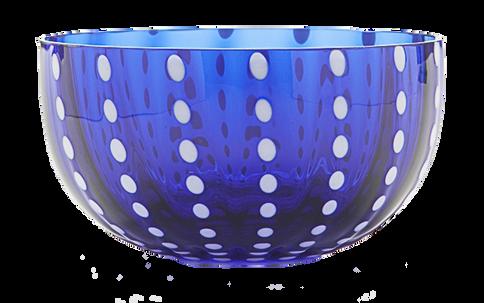 Perle Big bowl (blue)