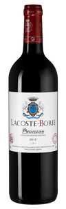 Вино Lacoste-Borie, Chateau Grand-Puy-Lacoste, 2012 г.