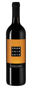 Вино Tre, Brancaia, 2016 г.