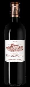 Вино Chateau Grand-Pontet, 2012 г.