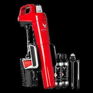 Система для подачи вин по бокалам Coravin Model 2 Elite (Красный глянец)