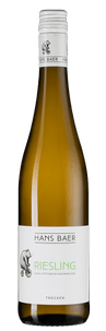 Вино Riesling, Hans Baer, 2018 г.