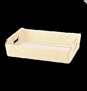 Подарочная коробка Cesto Incollato Tela Neutro