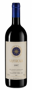 Вино Sassicaia, Tenuta San Guido, 1997 г.