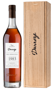Арманьяк Bas-Armagnac Darroze Unique Collection in wooden giftbox, 1983 г.