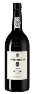 Портвейн Warre's Vintage Port, Warre`s, 1980 г.