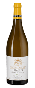 Вино Chablis Reserve de Vaudon, Joseph Drouhin, 2016 г.