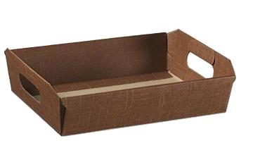 """CESTO """"Seta Marrone"""" 4883, 400x300, carton"""