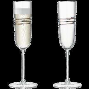 Набор из 2-х бокалов LSA International Remi для шампанского