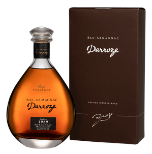 Арманьяк Bas-Armagnac Darroze Unique Collection Chateau de Gaube a Perquie 1969, 1969 г.