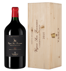 Вино Cabernet Sauvignon Vigna San Francesco, Tasca, 2015 г.