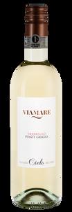 Вино Viamare Trebbiano Pinot Grigio, Cielo, 2018 г.