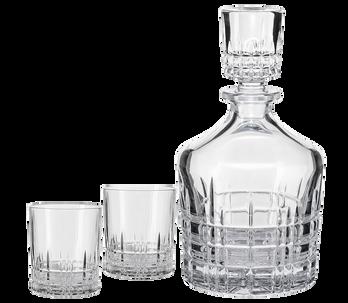 Декантер и 2 бокала Spiegelau Perfect Serve  для виски