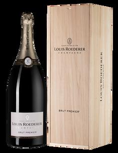 Шампанское Louis Roederer Brut Premier (wooden gift box)