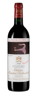 Вино Chateau Mouton Rothschild, 1990 г.