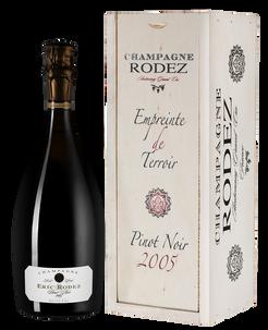 Шампанское Pinot Noir Brut Ambonnay Grand Cru, Eric Rodez, 2005 г.