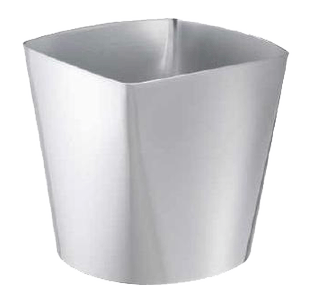 Champagne bucket for 4 bottles 3773/4, silvery