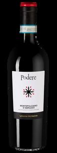 Вино Podere Montepulciano d'Abruzzo, Umani Ronchi, 2018 г.