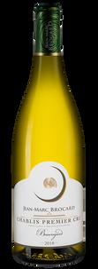 Вино Chablis Premier Cru Beauregard, Jean-Marc Brocard (Domaine Sainte-Claire), 2018 г.