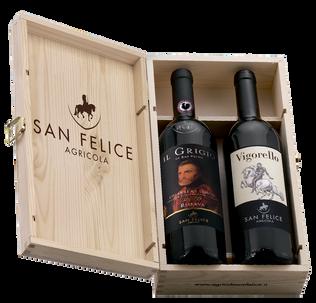 Вино Набор Вигорело и Кьянти иль Гриджио от Сан Феличе (2 бут. вина), Agricola San Felice
