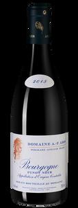 Вино Bourgogne Pinot Noir, Domaine Anne-Francoise Gros, 2015 г.