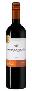 Вино Estrellas Carmenere, Santa Carolina, 2017 г.