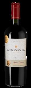 Вино Gran Reserva Syrah, Santa Carolina, 2016 г.
