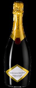 Игристое вино Trijumf Chardonnay Brut, Vinarija Aleksandrovic, 2013 г.