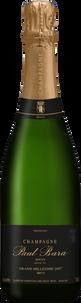 Шампанское Grand Millesime Brut Grand Cru Bouzy, Paul Bara, 2007 г.