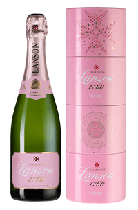 Шампанское Lanson Rose Label Brut Rose
