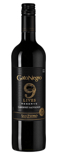 Вино Gato Negro 9 Lives Reserve Cabernet Sauvignon, Vina San Pedro, 2018 г.