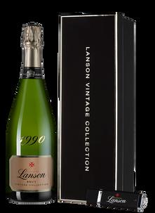 Шампанское Lanson Vintage Collection Brut, 1990 г.