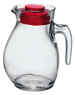 Bormioli Sangria Jug with red lid