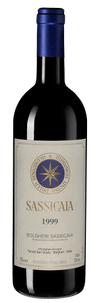 Вино Sassicaia, Tenuta San Guido, 1999 г.