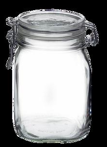 Набор из 12-ти банок Bormioli Fido Jar Herm