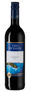 Вино Two Oceans Pinotage, Distell, 2017 г.